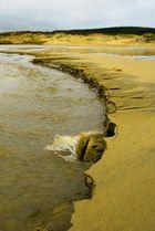 Fluss in Sand