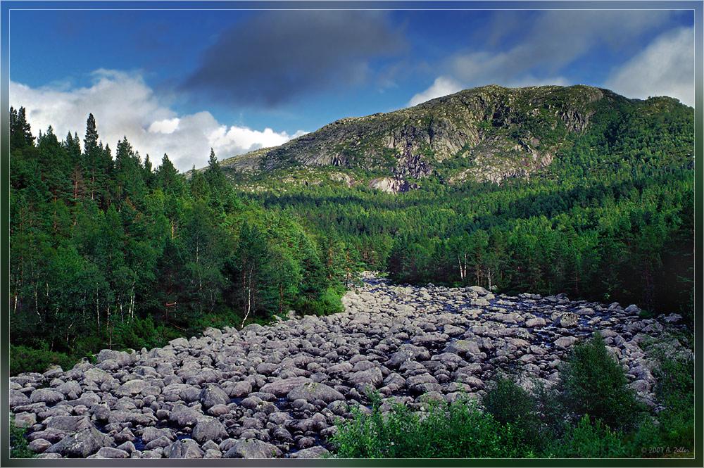 Fluss- oder Steinbett??