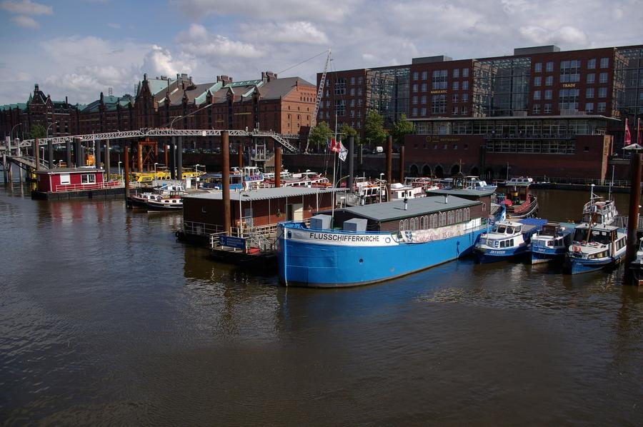 Flusschifferkirche - Hamburg
