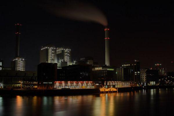Flußhafen Frankfurt