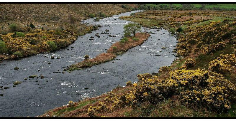 Flusslandschaft am Ring of Kerry