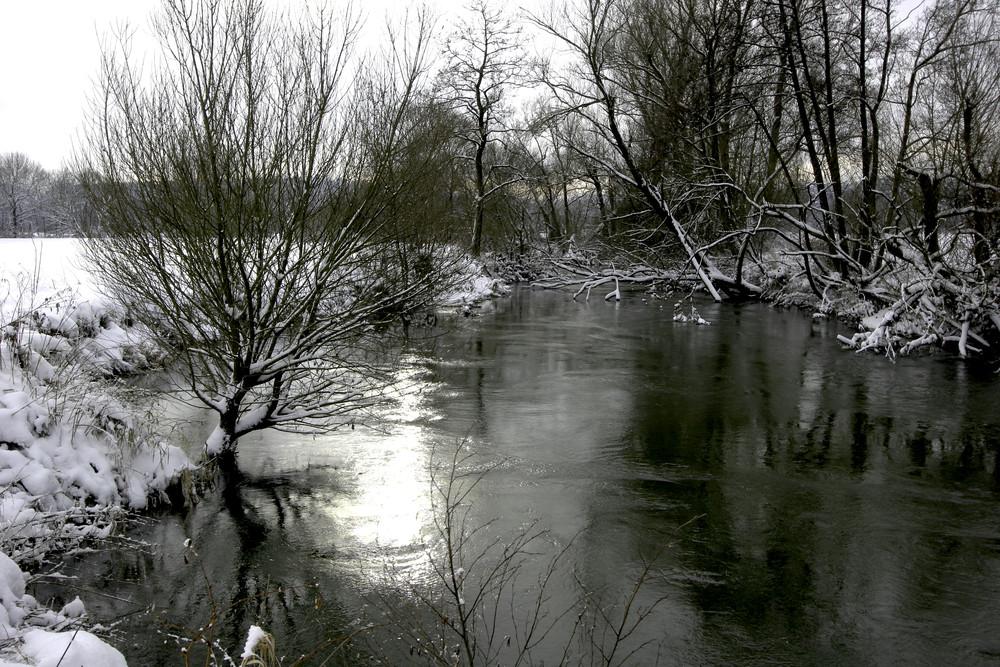 Flußlandschaft bei Ottensoos - 2