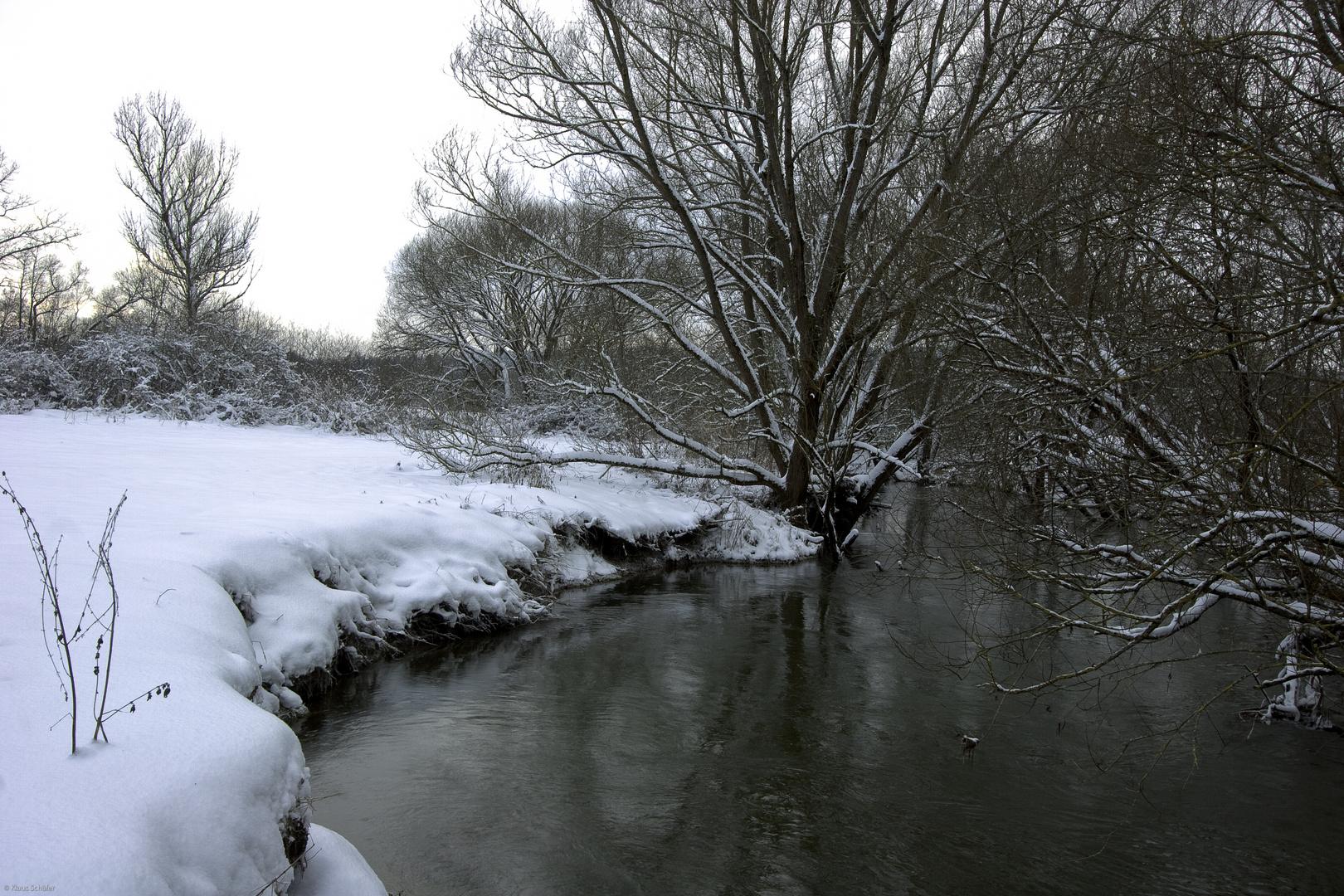 Flußlandschaft bei Ottensoos - 4
