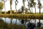 Flusslandschaft in Flandern