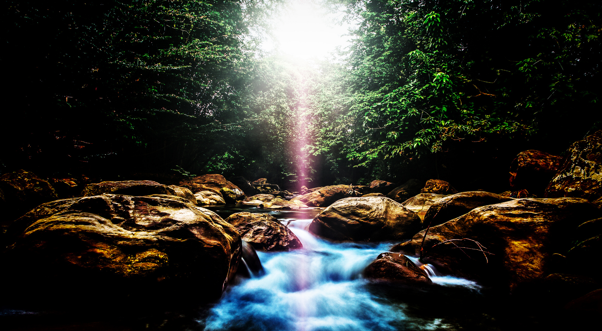 Flusslichtung