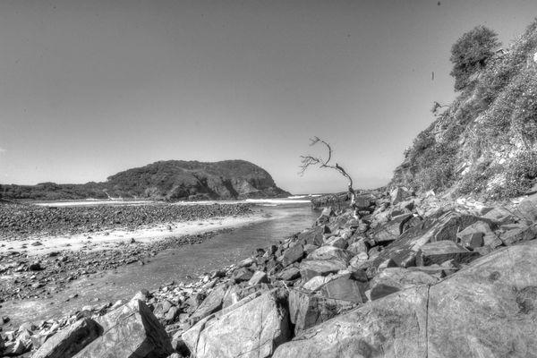 Flussmündung des Nenga