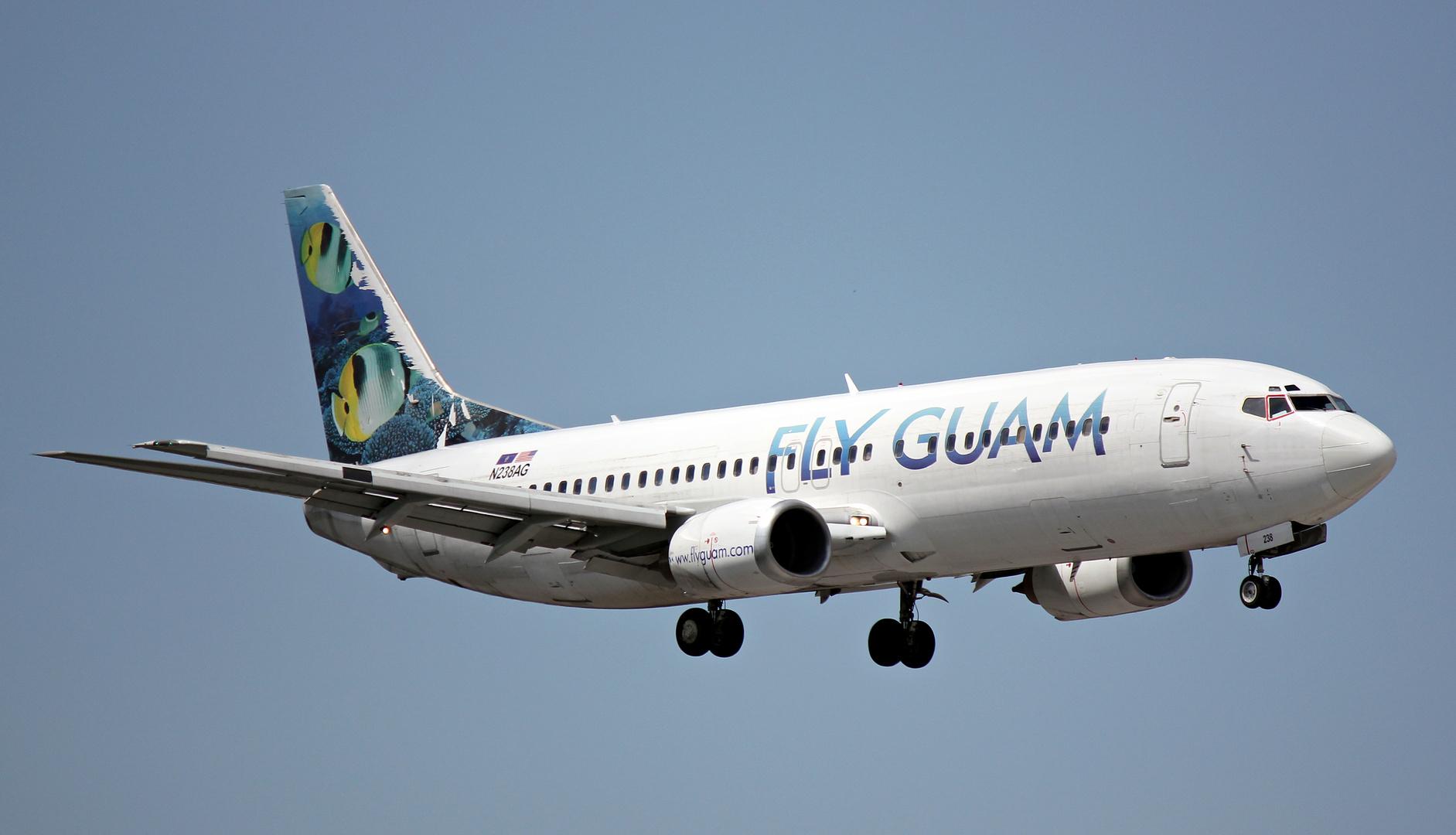 Fly Guam Boeing 737-4YD N238AG