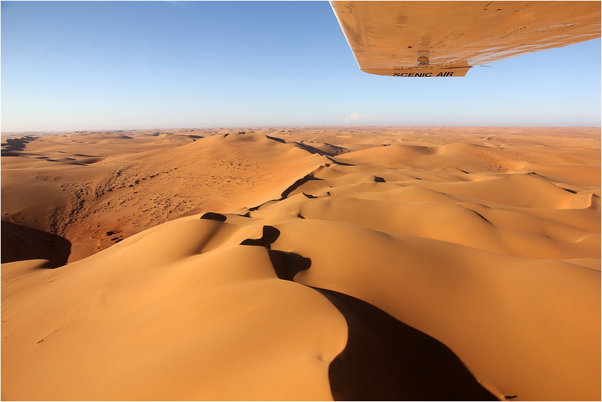 Fly me to the dunes