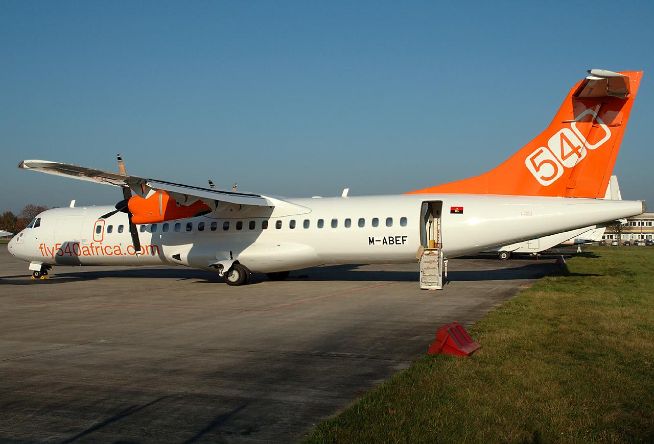 Fly540 ATR72 in Mönchengladbach