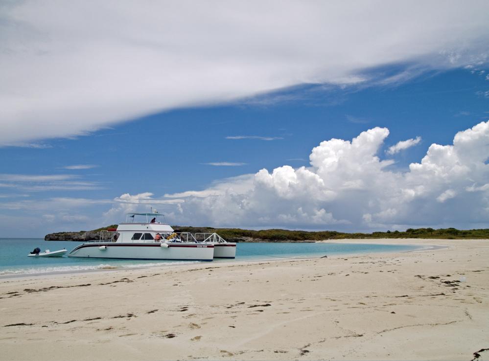 """Flyin' Fish"" Catamaran bei Great Exuma, Bahamas"