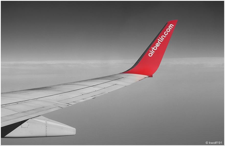 ...flying...