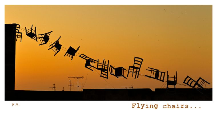 Flying chairs...