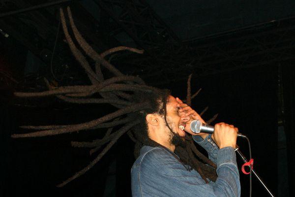 Flying Dreads - Julian Marley