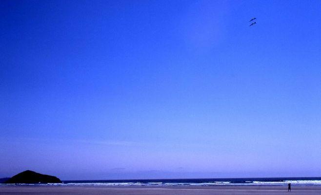 Flying Kites in Tofino