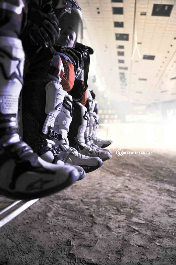 FMX-boots at masters of dirt 2013
