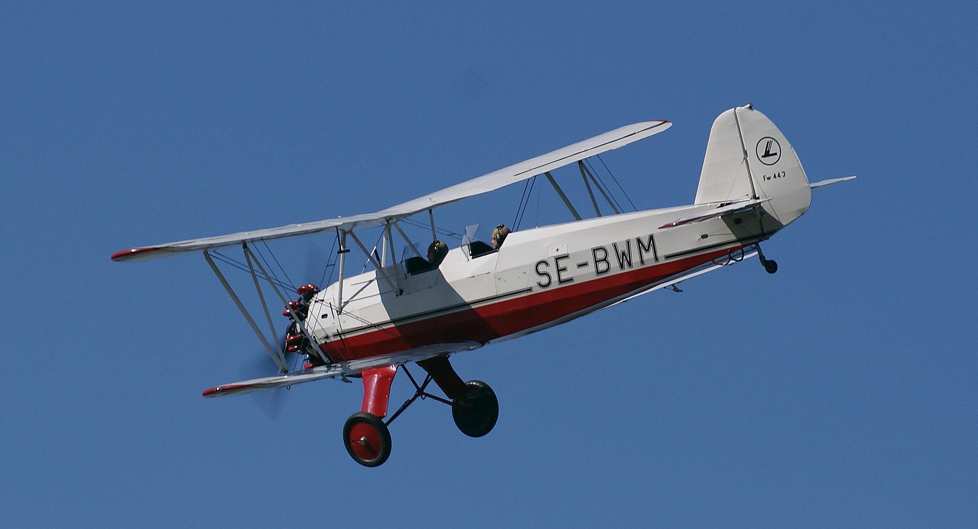 Focke Wulf,FW 44J Stieglitz / SE-BWM