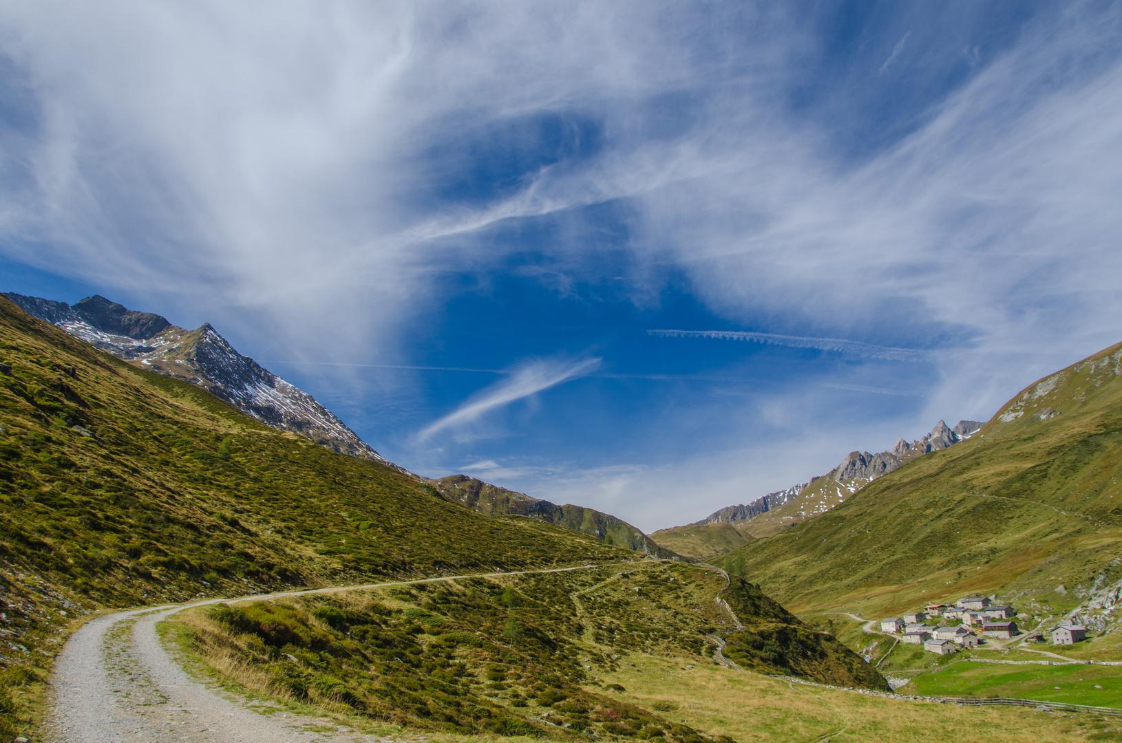 Föhnhimmel Jagdhausalmen, Osttirol