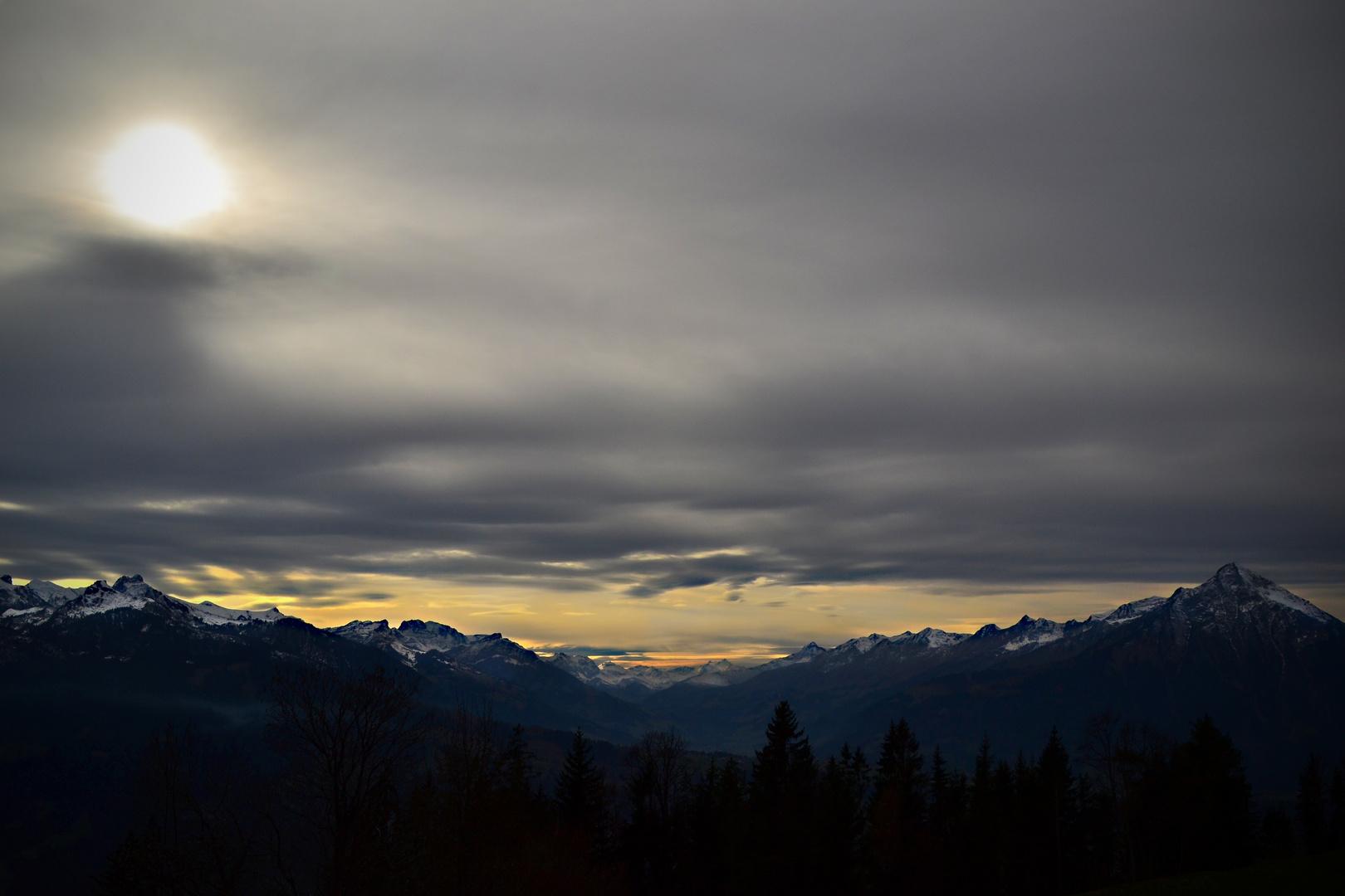 Föhnsturm im Berner Oberland