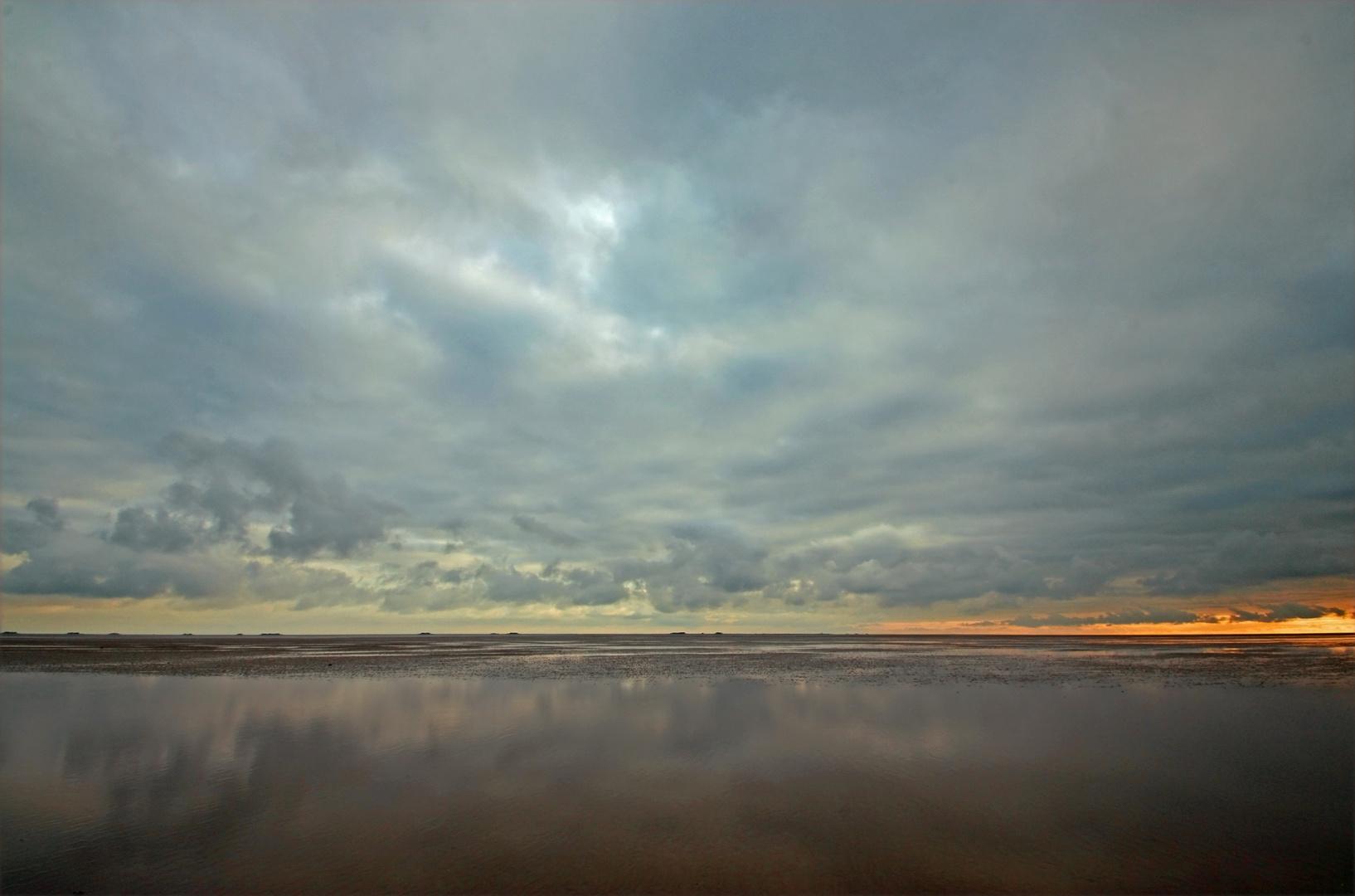 Föhr Watt Wolken