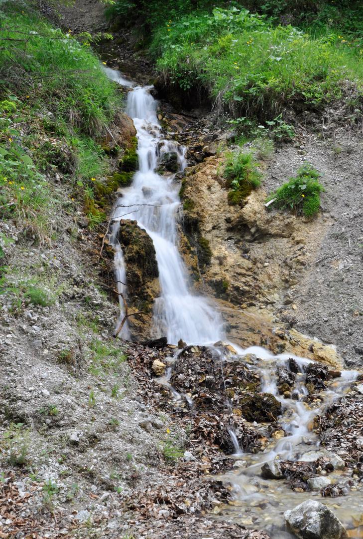 Fölzklamm - Kleiner Wasserfall