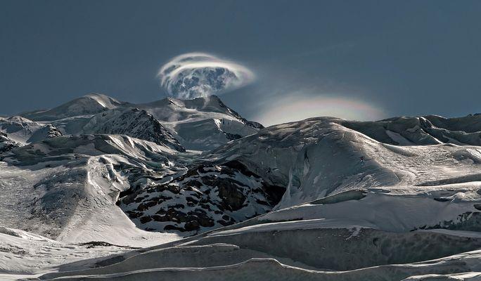 Fönwolken über dem Bellavista