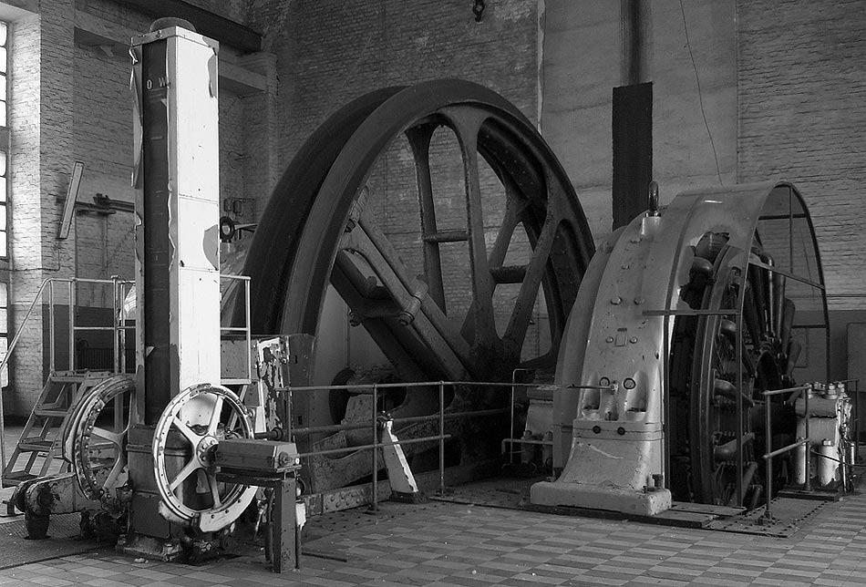 Fördermaschine inc. Teufenanzeiger