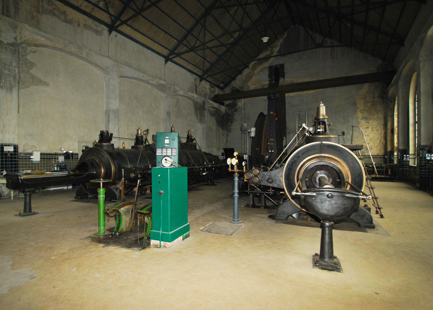 Fördermaschine von Fürst Leopold