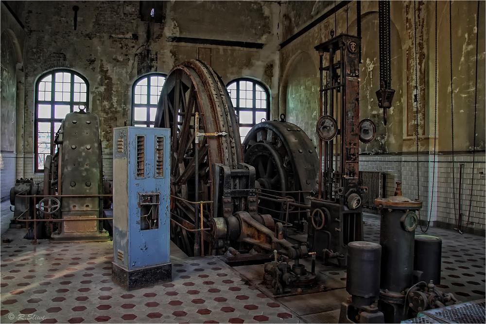 Fördermaschine Zeche Zweckel