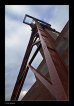 Förderturm, Zeche Zollverein