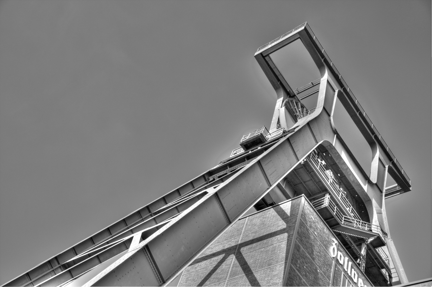 Förderturm Zollverein, D-Essen
