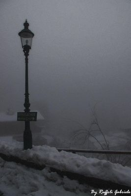 Fog in Bad Gastein