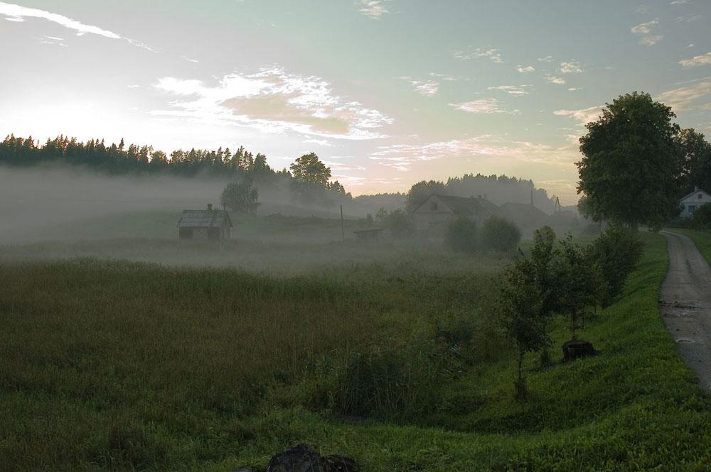 Fog in Letvia