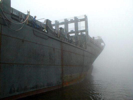 fog sailing [ harbor ]