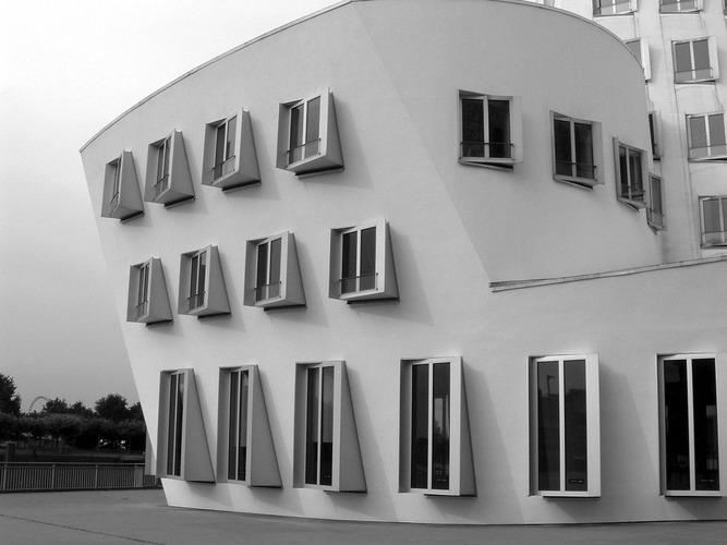 f.o.Gehry Zollhaus Düsseldorf