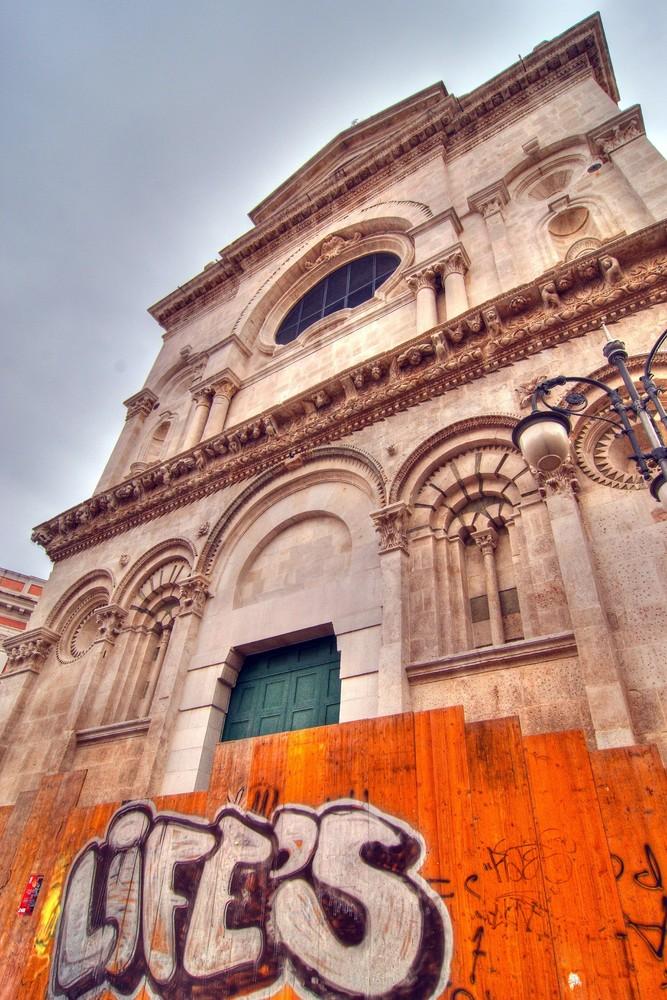 Foggia, Cattedrale: antico e moderno