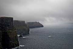 Foggy Cliffs.