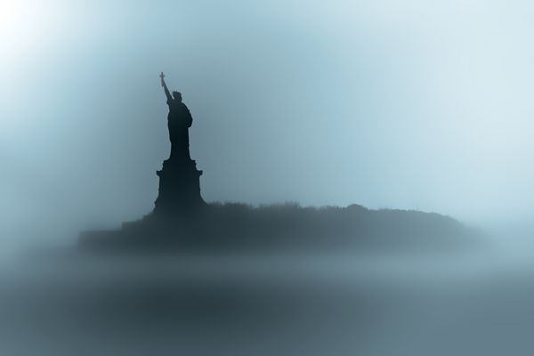 Foggy Liberty