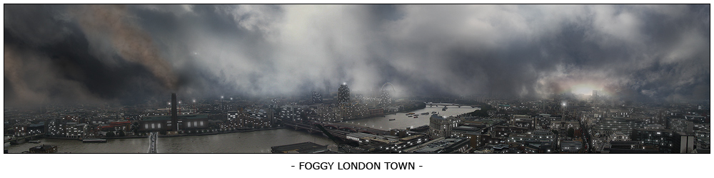 """Foggy London Town"""