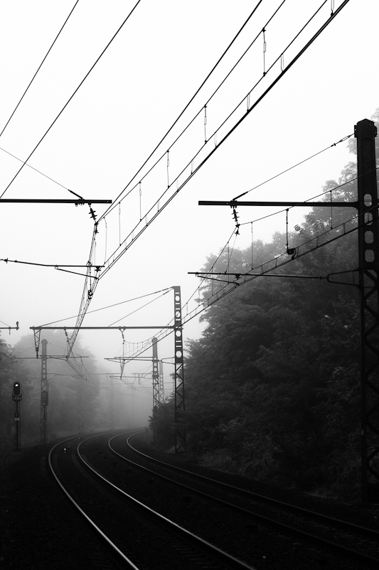 foggy station