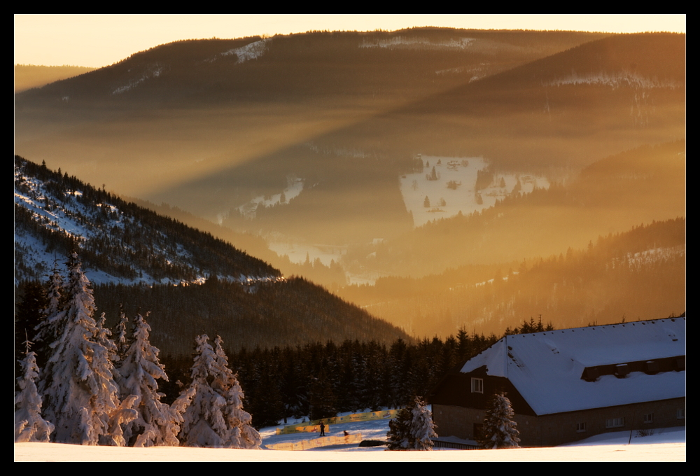 Foggy Sunset 2