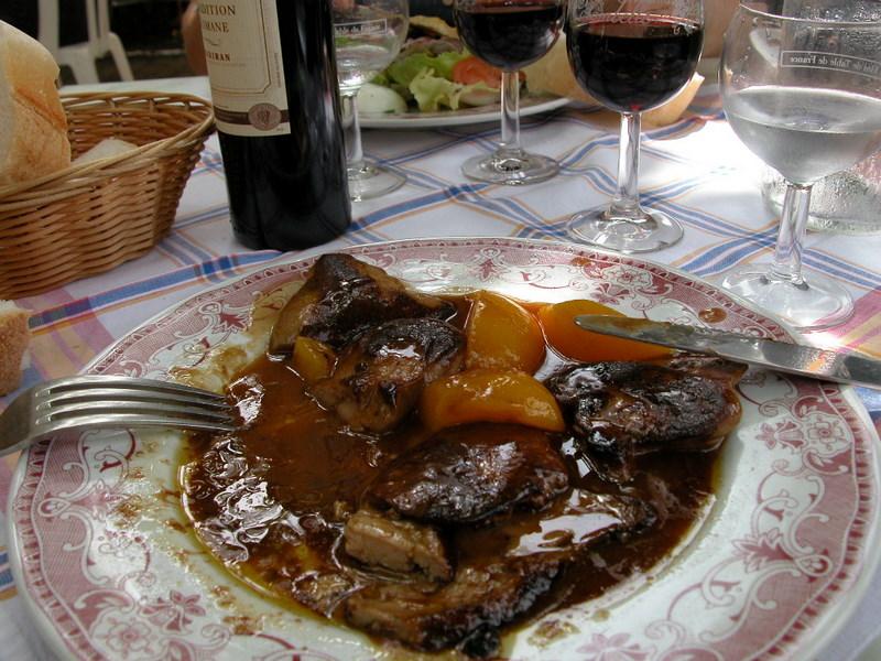 Foie gras poelé quelque part dans le Gers