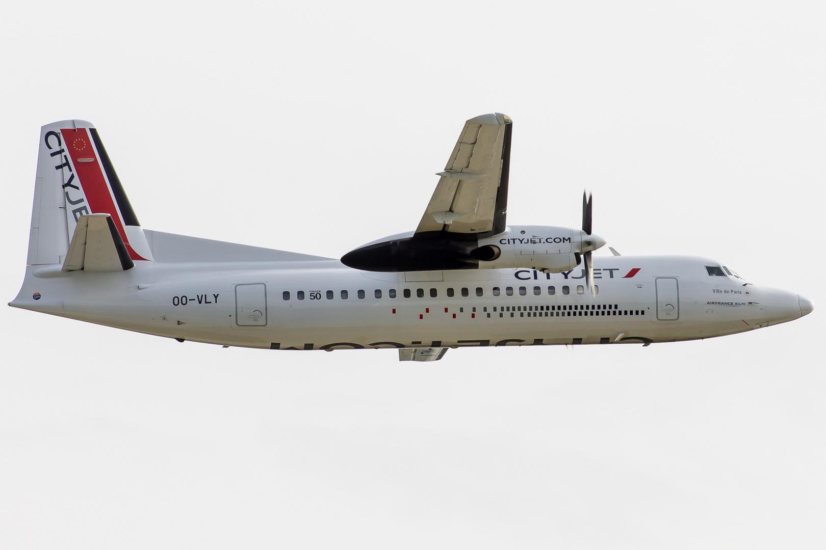 Fokker 50 Cityjet