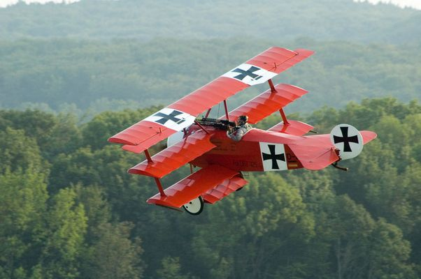 Fokker DR1 - Fliegenden Museum...Josef Koch, Großenhain in Sachsen