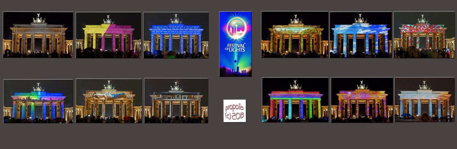 FOL 2013. zwölf zu null für Licht und Farben