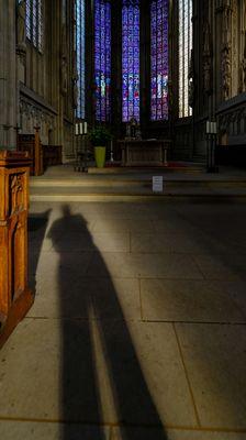 Folge dem Schatten.........