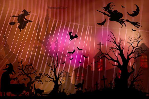 Folie d'halloween