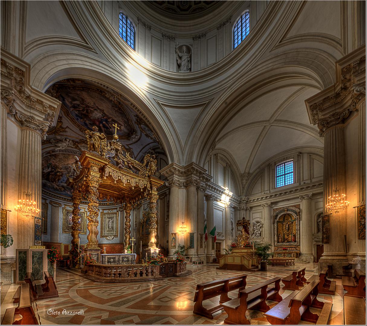 Foligno Duomo San Feliciano Interni Foto Immagini