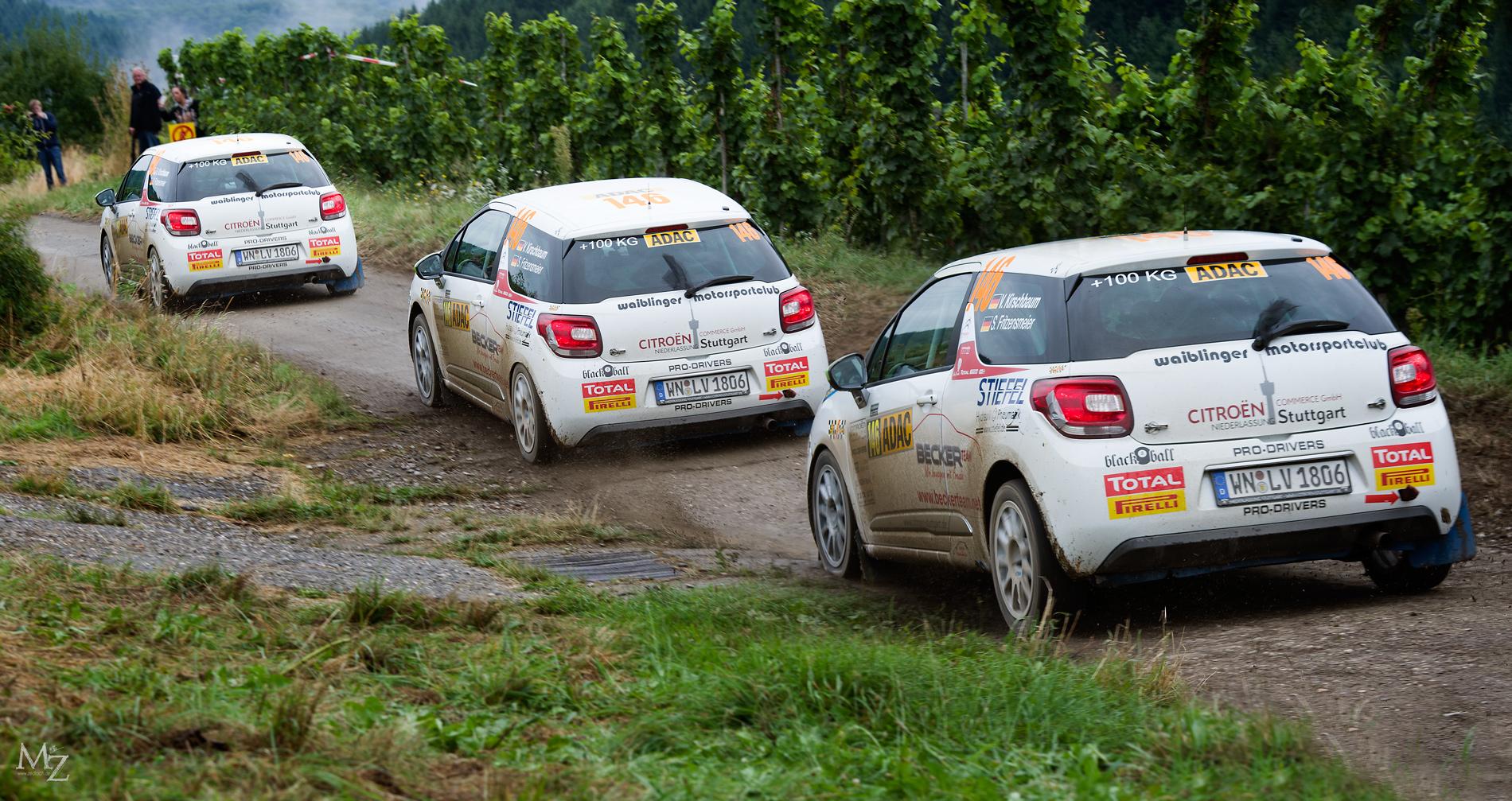 Follow me... (Rallye Deutschland; Etappe bei Trier)