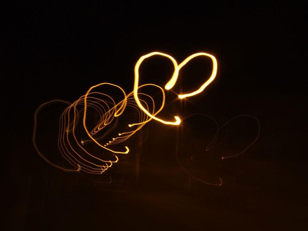 follow the light..