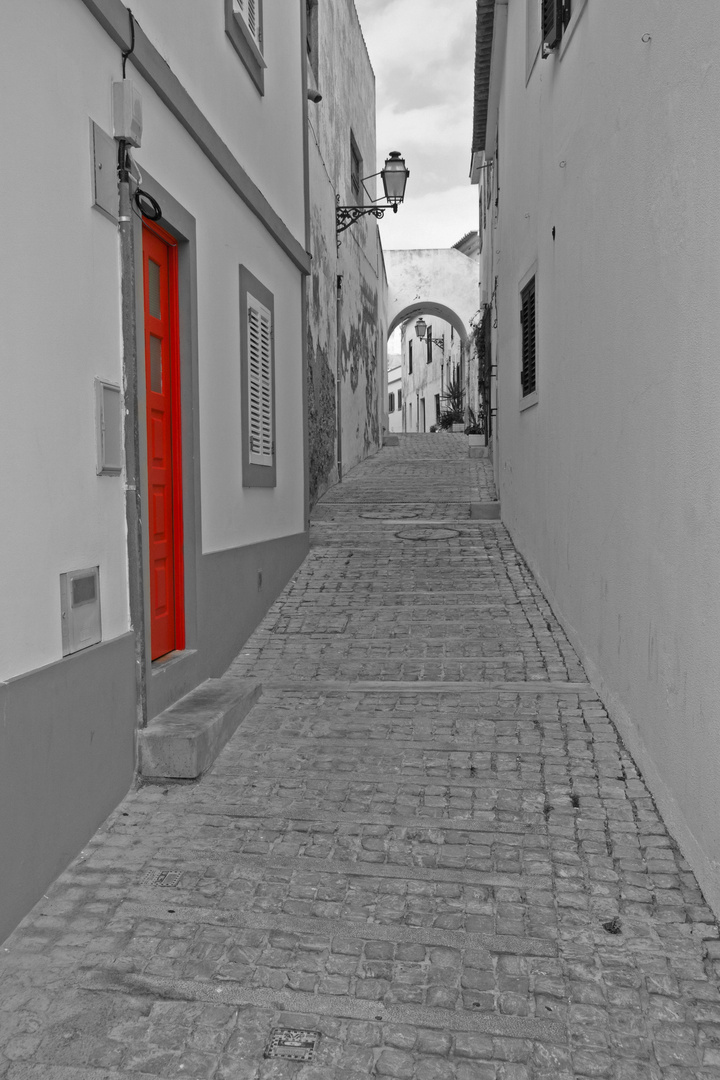 ....follow the red door....